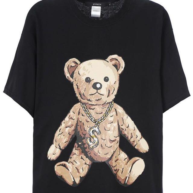Joyrich熊熊短袖上衣