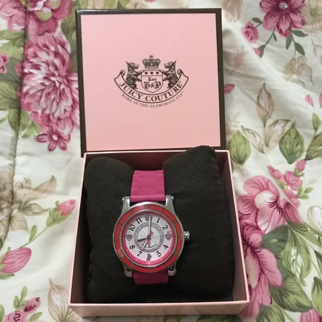 Juicy Couture Rubber Watch