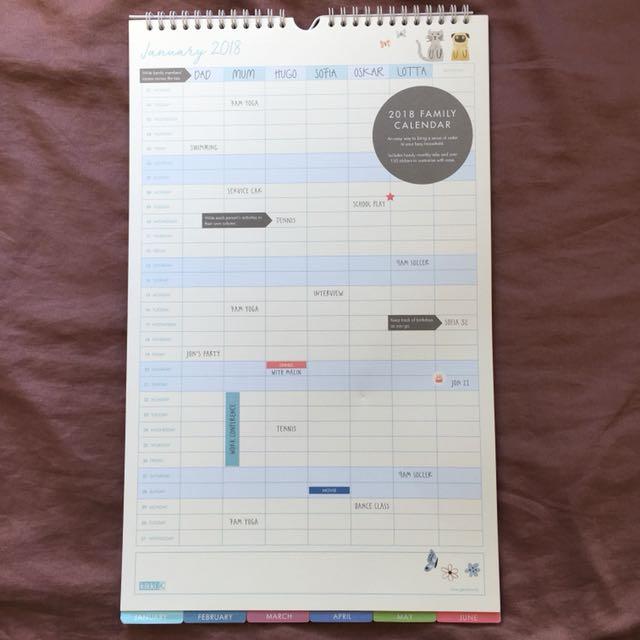 Kikki K Family Calendar Rep $24.95