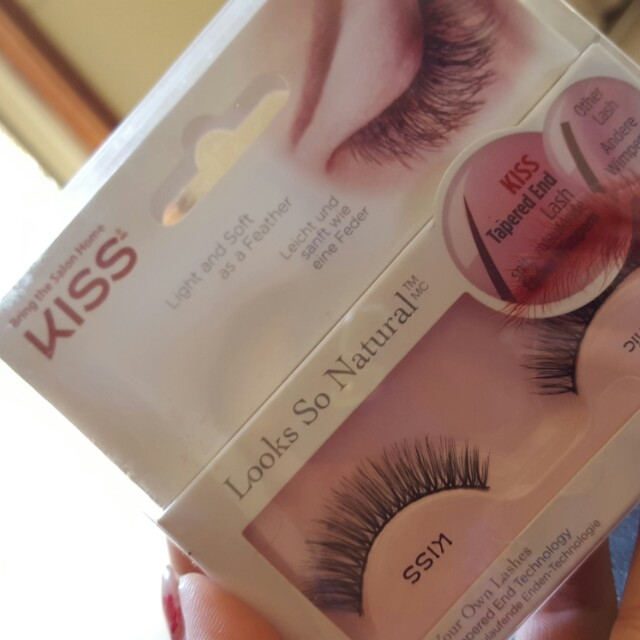 Kiss tapered end lash
