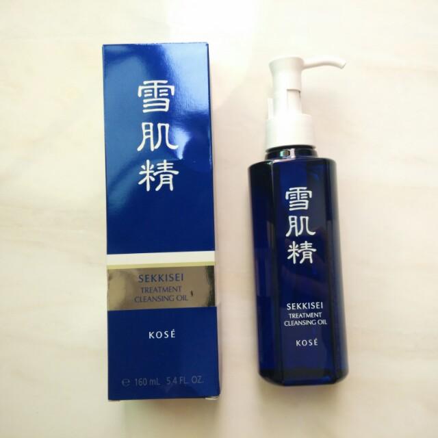 Kose Sekkisei Cleansing Treatment Oil