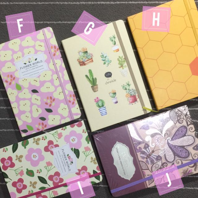 Lined Notebooks 5x8