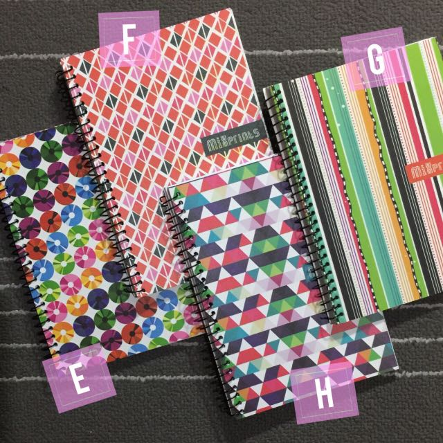 Lined Notebooks Spiral 5x7