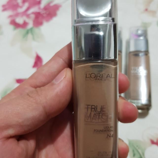 L'OREAL True Match liquid foundation N4