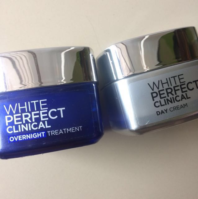 Loreal white perfect day n night cream