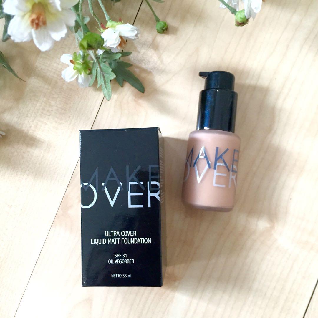 Make Over Ultra Cover Liquid Matt Foundation 03 Nude Silk Health Beauty Makeup On Carousell