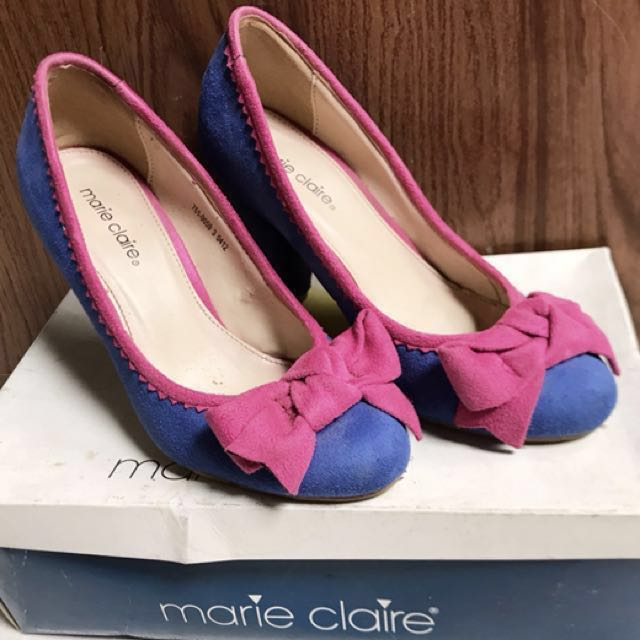 Marie Claire - Cone Heels
