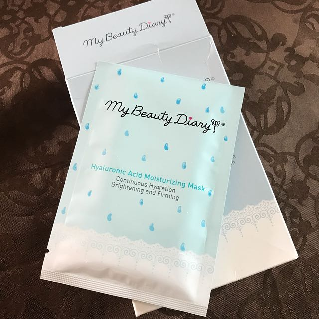 Moisturizing Mask - My Beauty Diary