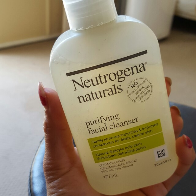 Neutrogena purifying facial cleanser