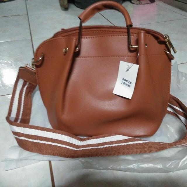 New Brown Sling Bag