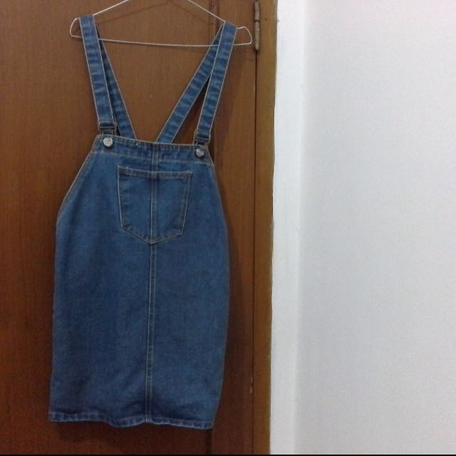 New overall skirt jeans