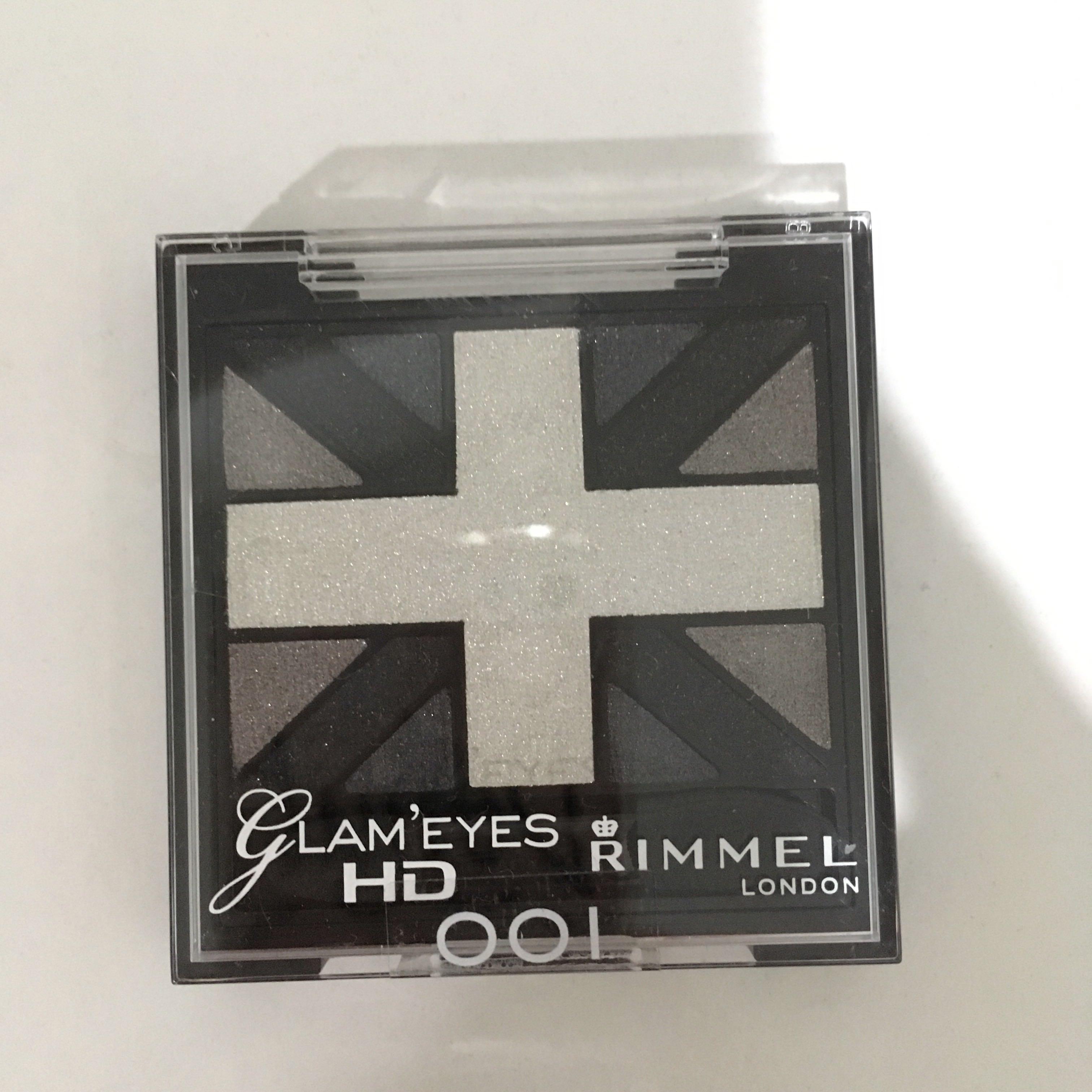 NEW Rimmel Glam eyes eyeshadow palette