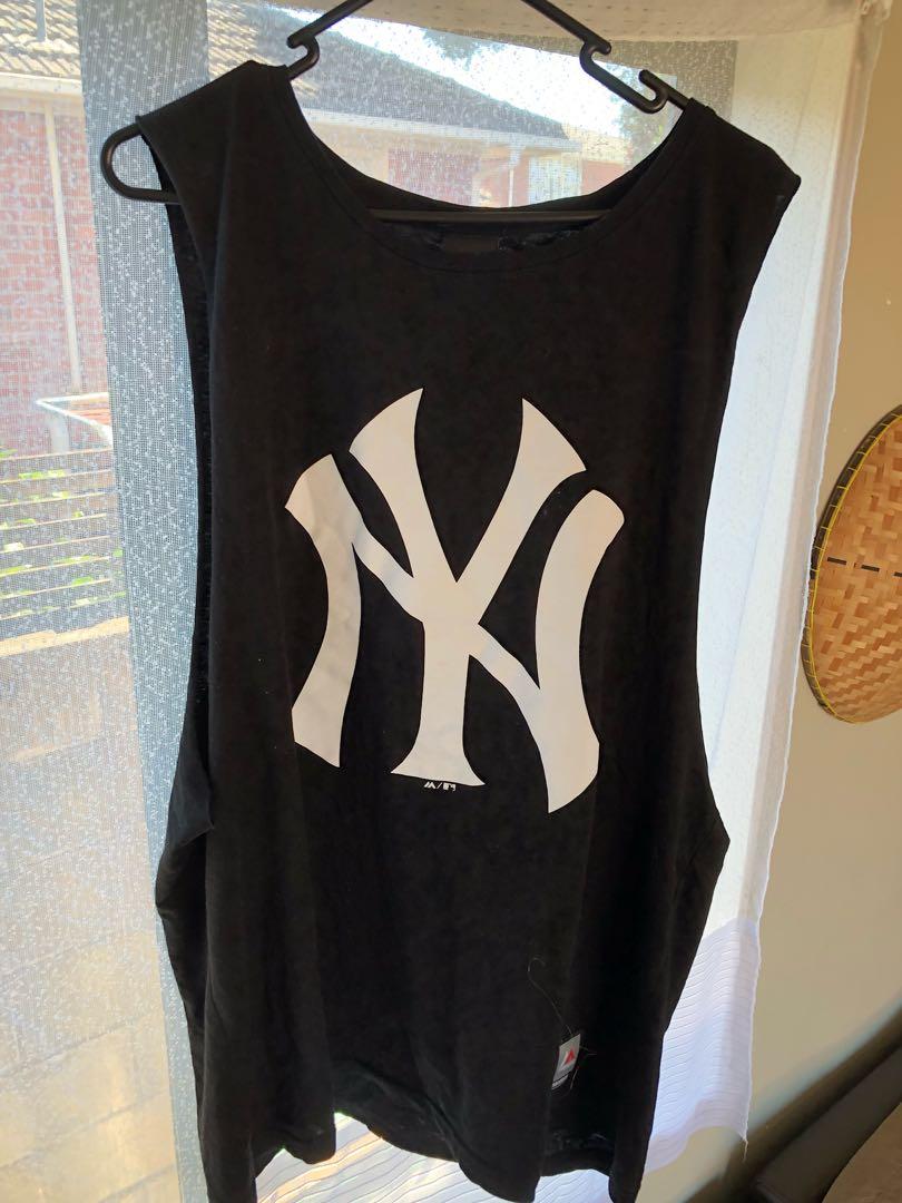 NY base ball tee