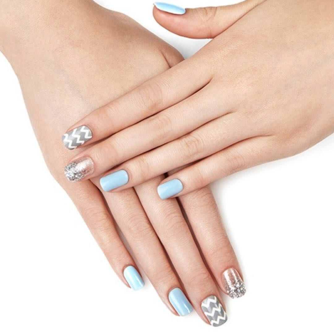Nice Dashing Diva Metallic Nails Pattern - Nail Paint Ideas ...
