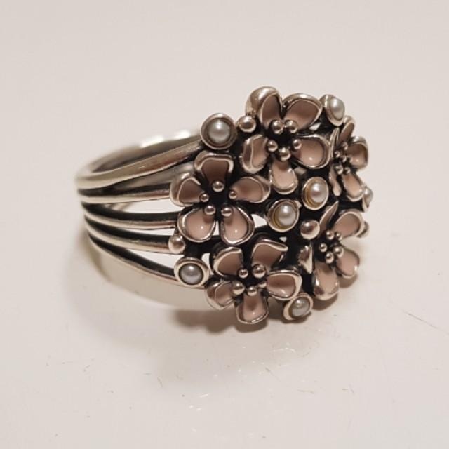 Pandora Cherry Blossom Banquet Ring (retired)