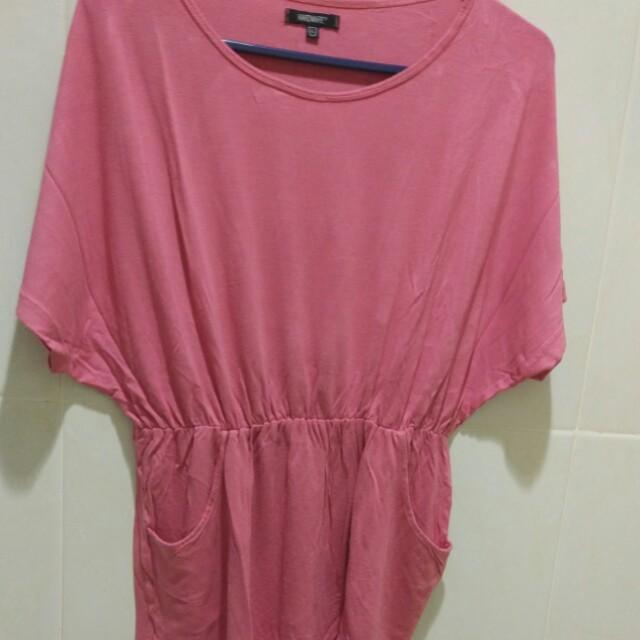 Pink Loose Shirt #ImlekHoki