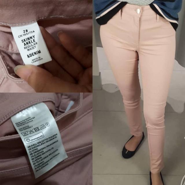 PL LIKE NEW H&M Basic Jeans