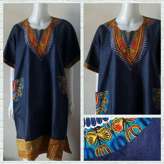 Plus Size Ethnic Maong Dress