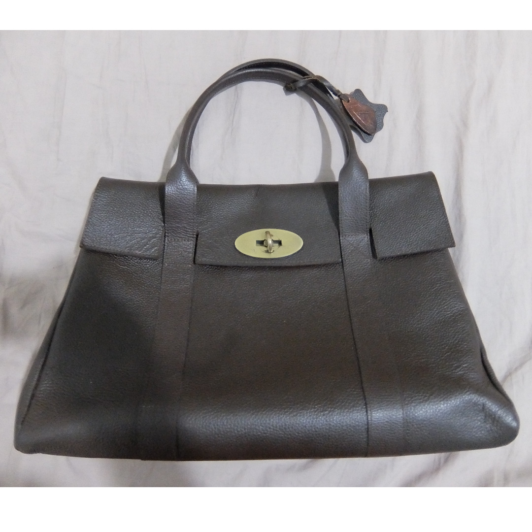 (pre-loved) Our Tribe Women's Leather Bag - 794 Chocolate brown