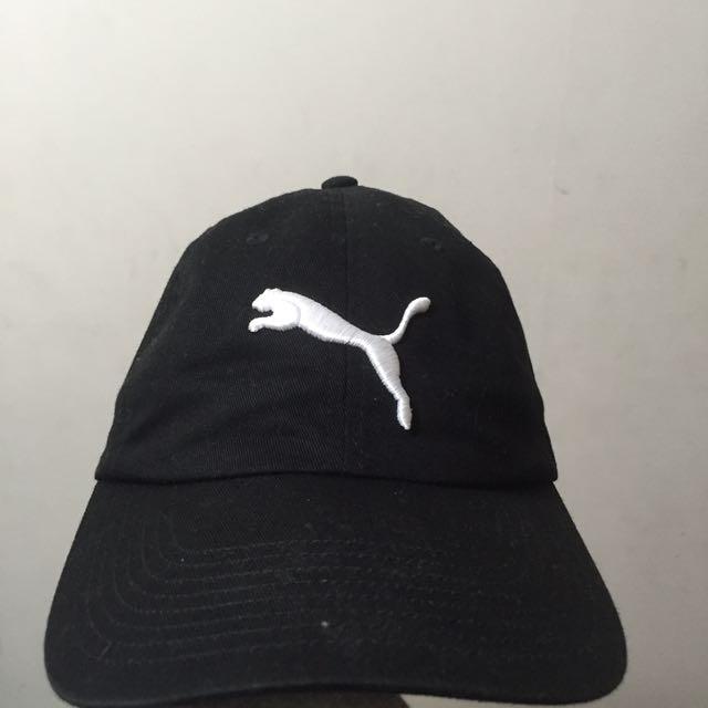 Puma 老帽 黑色