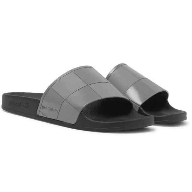 29c71e0539c1bd Raf Simons + Adidas Adilette Rubber Slides (101% Authentic)