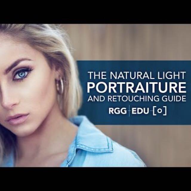 RGG EDU Dani Diamond Natural Light Retouching Tutorial