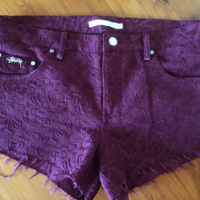 Size 10 Stussy shorts