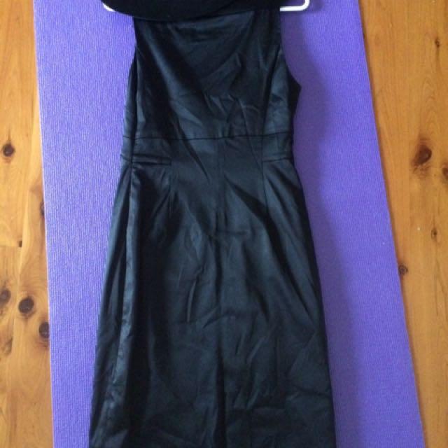 Size 6 Cue Black Dress