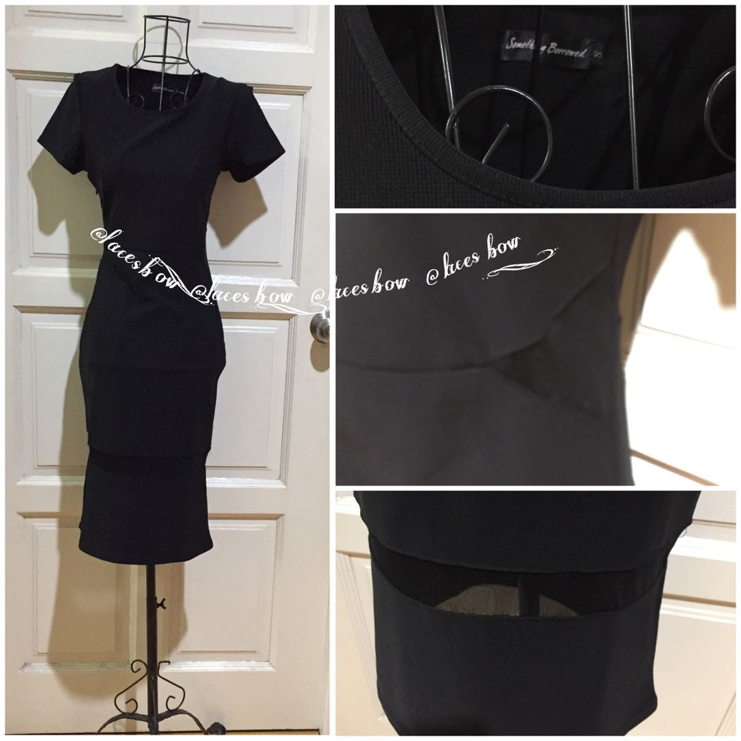 Something Borrowed Little Black Dress