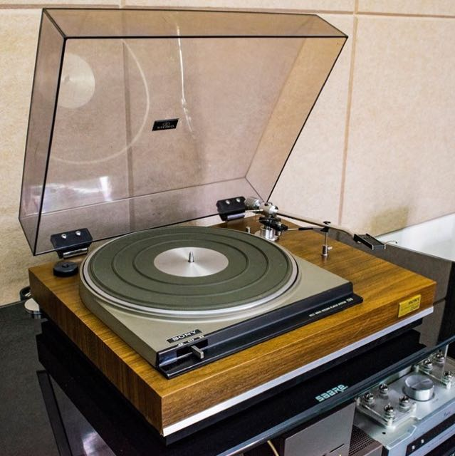 sony ps 2310 belt drive fully manual turntable electronics audio rh ph carousell com Sony Record Player Review Sony Portable Record Player