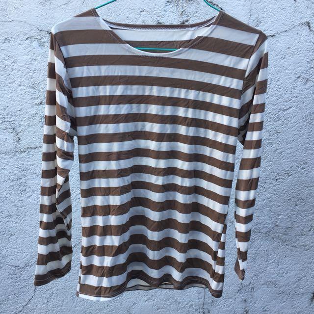 Stripes Long-Sleeve Shirt *Buy 1 Get 1*