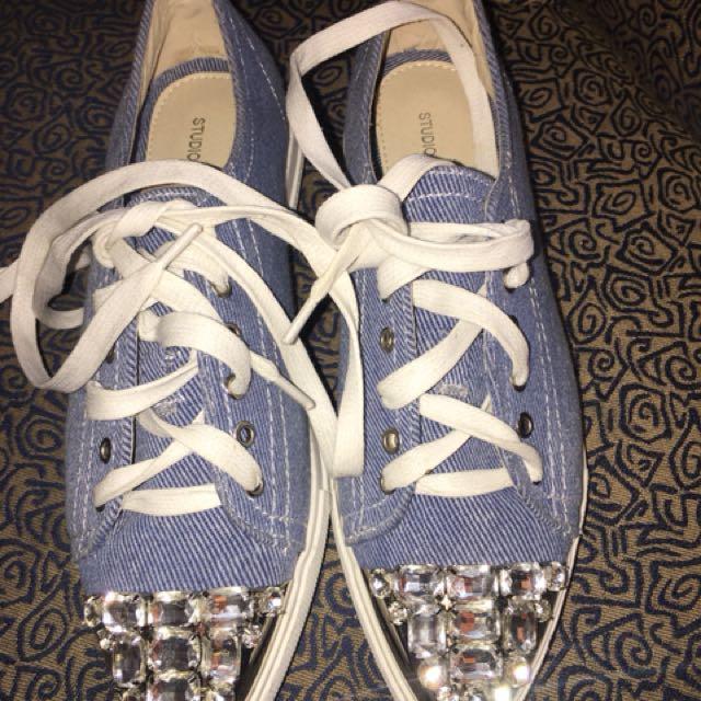 Studio Kara Rubber Shoes with stones