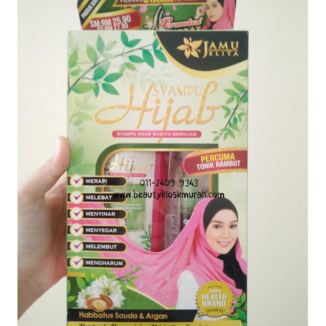 Syampu Hijab Jamu Jelita Health Beauty Hair Care On Carousell Henna Rambut