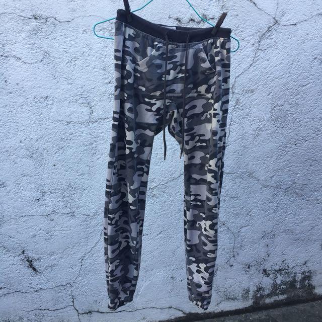Terranova Grey Camo Sweatpants