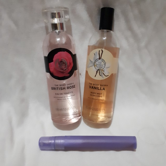 The body shop share size