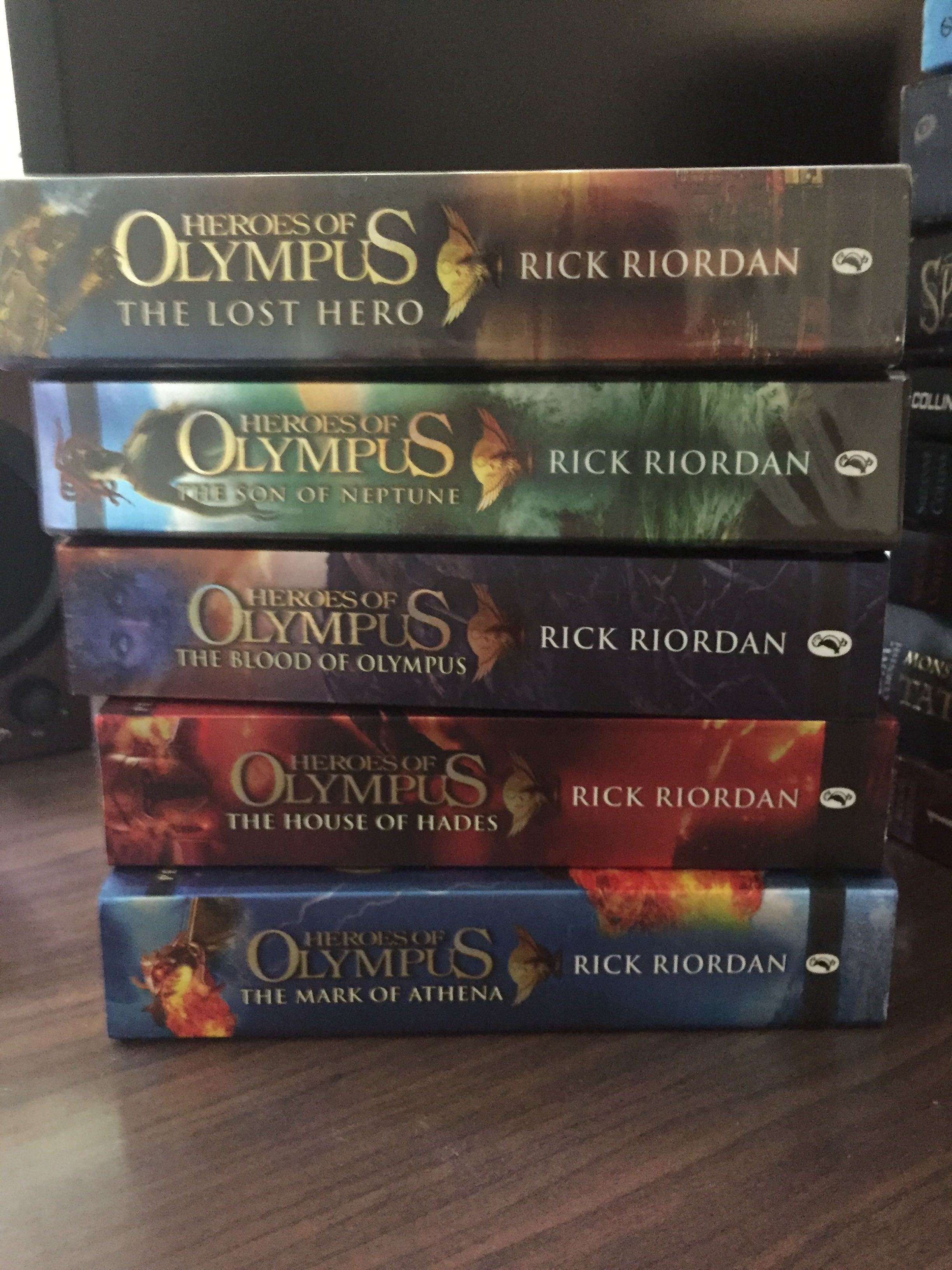 The Heroes of Olympus complete series (5 books)