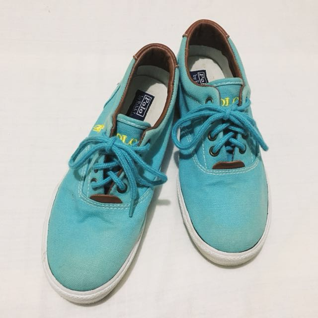 Turquoise Rubber Shoes