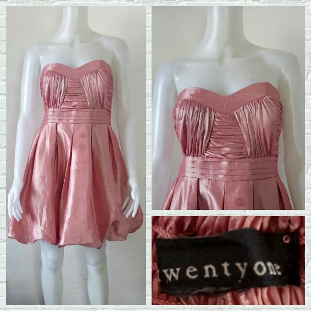 Twenty One Rose Pink Prom/Cocktail Dress