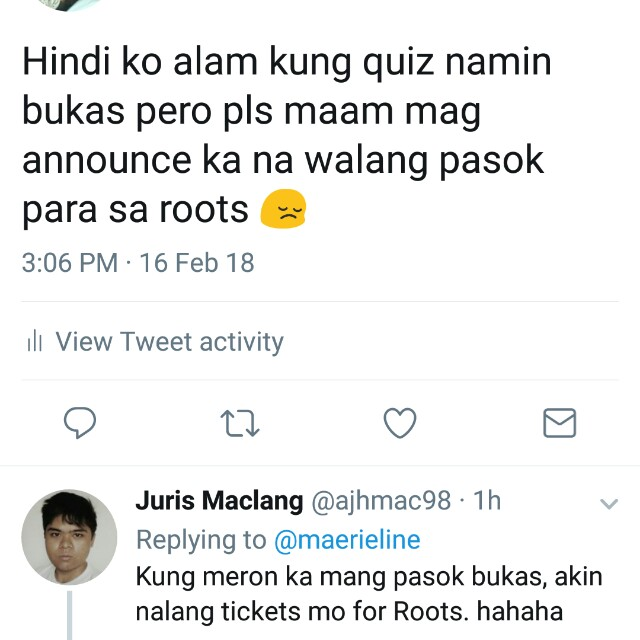 UP Fair Roots Tickets