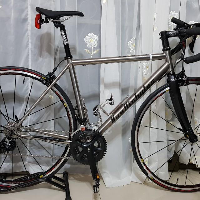 c2861210b26 Van Nicholas Ventus (Titanium), Bicycles & PMDs, Bicycles on Carousell