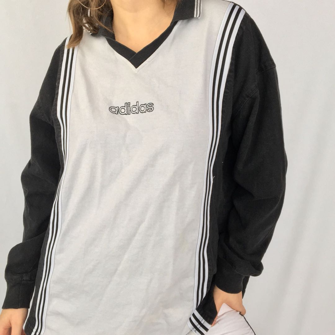 Vintage Adidas Collared Top / Sweater