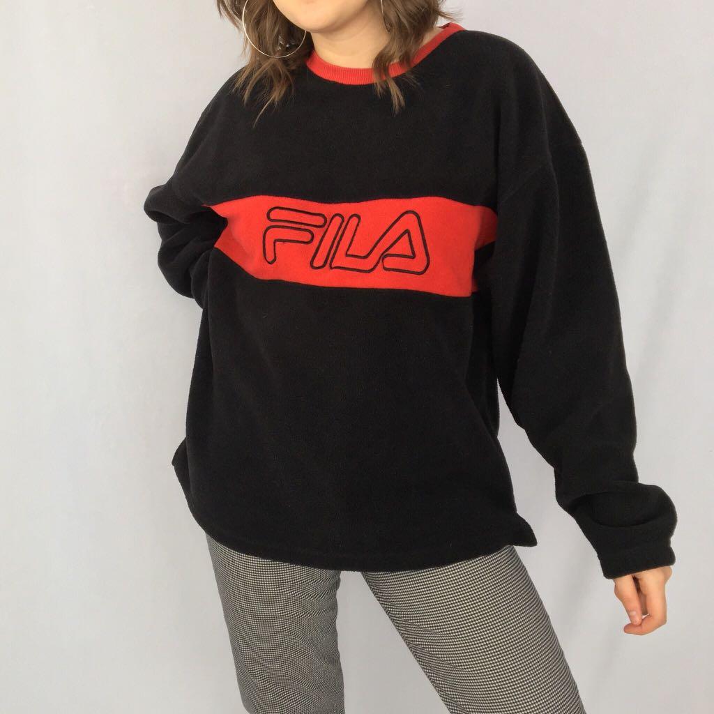 Vintage Fila Fleece Sweater