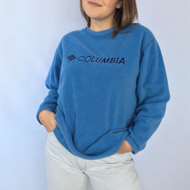 Vintage Light Blue Columbia Fleece