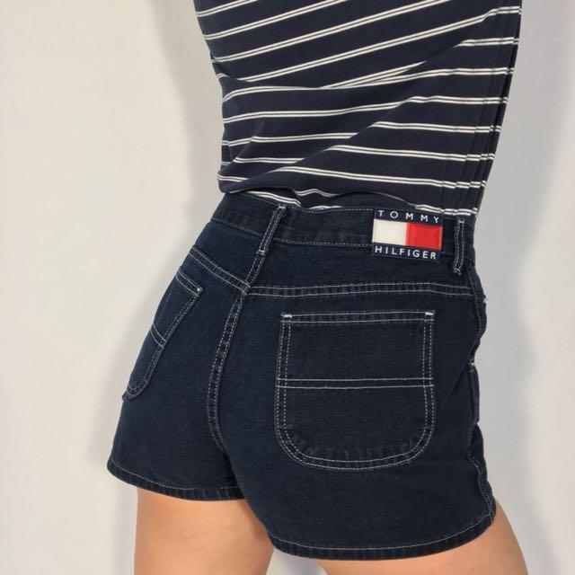 Vintage Tommy Hilfiger High Waisted Shorts