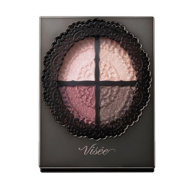Visee 晶緞光漾眼影盒-003
