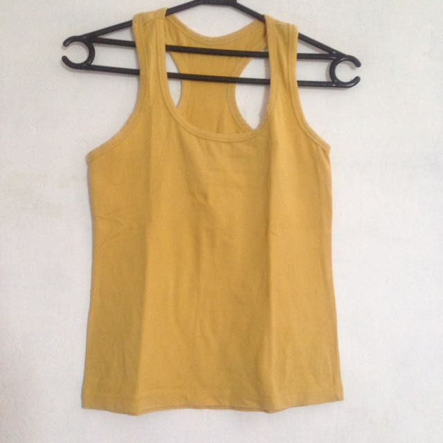 Yellow Tanktop
