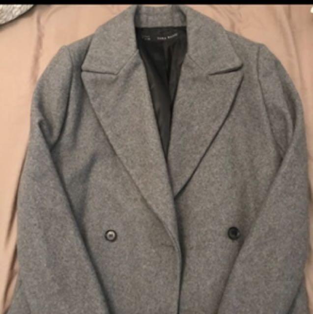 Zara coat size 10