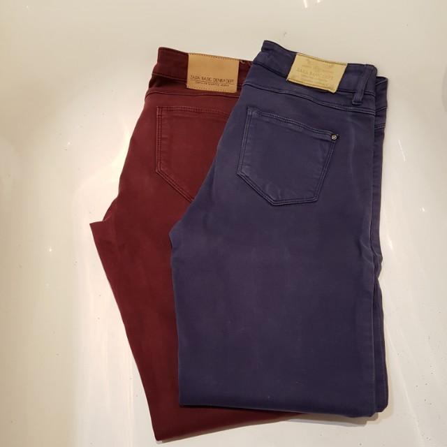 Take 2! Zara Jeans! 36 & 38