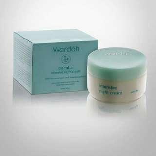 WARDAH. Essential intensive night creamEa
