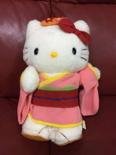 "90s Hello Kitty 10"" tall"